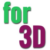 for 3D