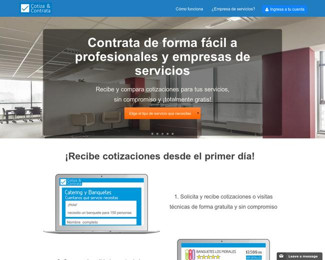 Cotiza & Contrata