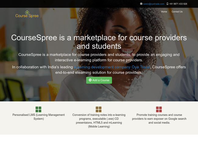 CourseSpree