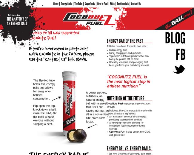 CocoNutz Fuel