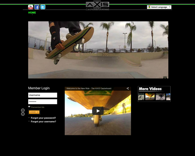 AXIS Casterboarding