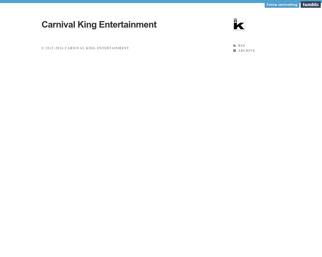 Carnival King Entertainment