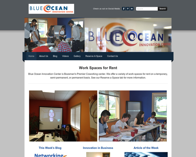 Blue Ocean Innovation Center