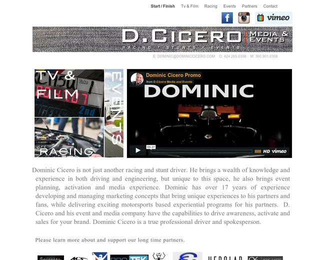 D.Cicero Motorsports and Media