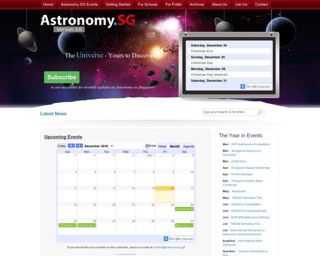 Astronomy.SG