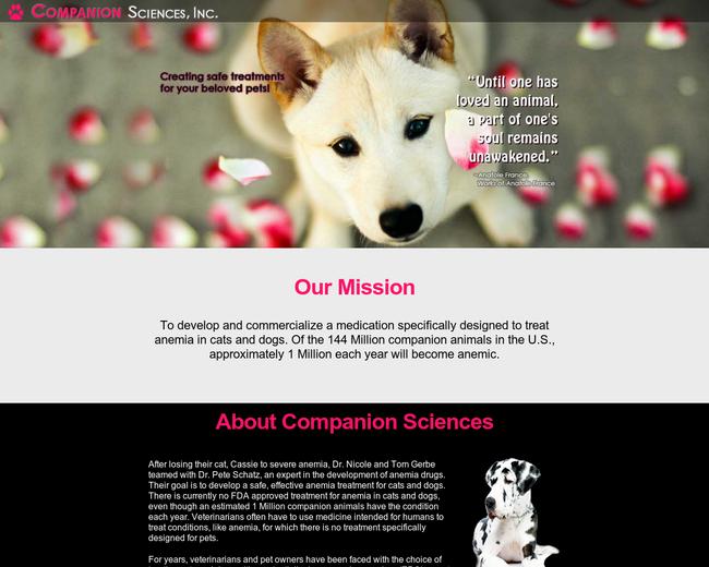 Companion Sciences