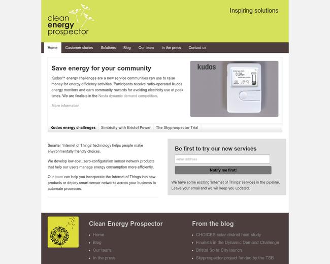 Clean Energy Prospector