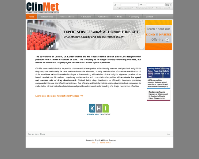 Clinical Metabolomics