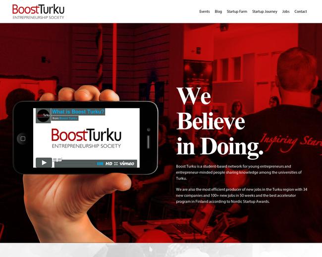Boost Turku Startup Journey