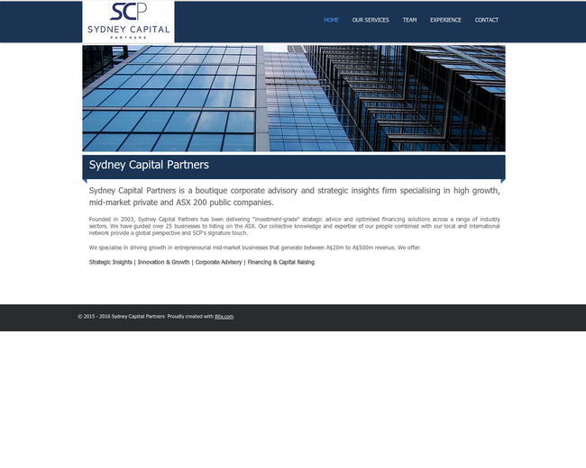 Sydney Capital Partners