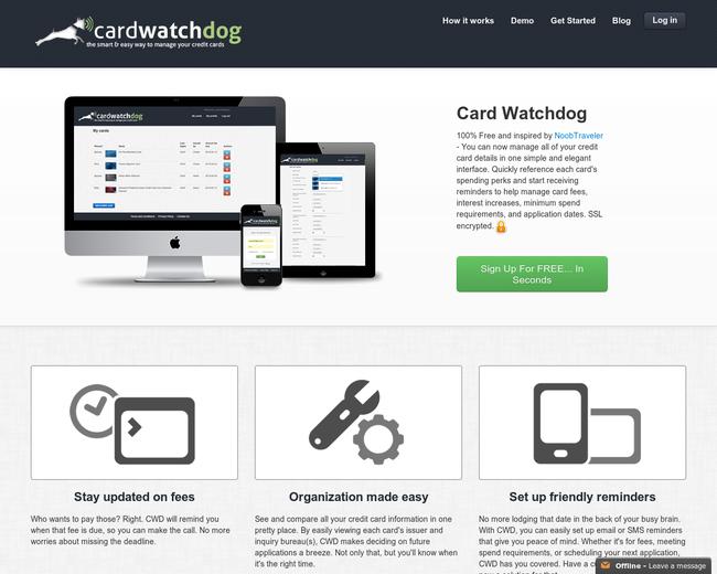 Card Watchdog