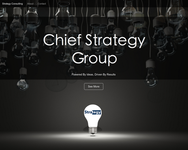 Chief Strategy Group