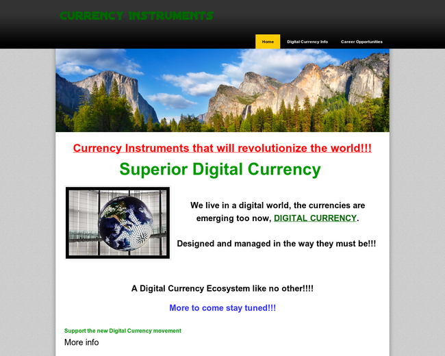 CURRENCY INSTRUMENTS