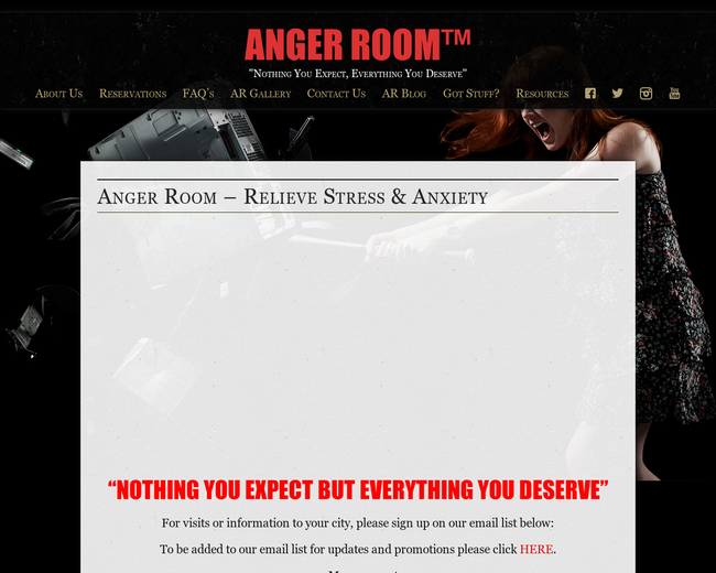 Anger Room®