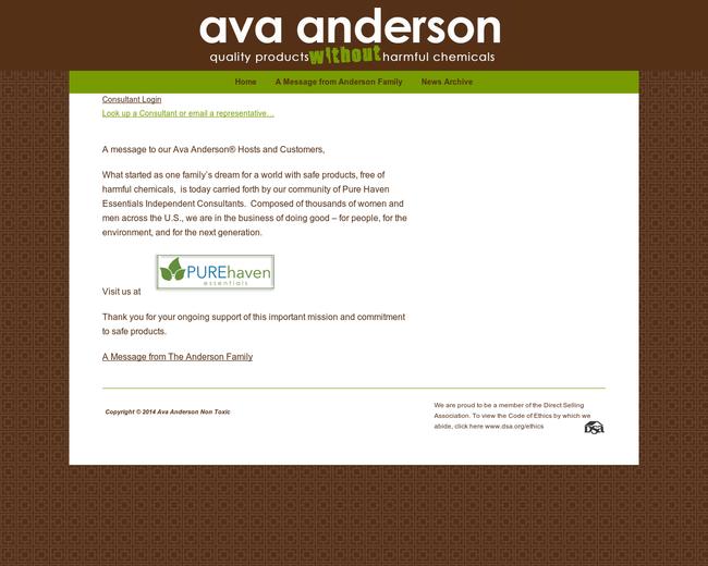 Ava Anderson Non Toxic