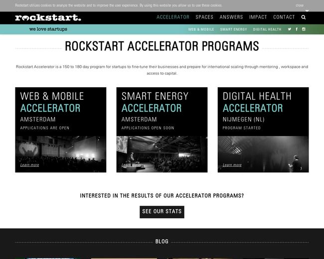 Rockstart Accelerator