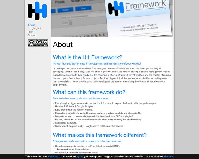 H4 Framework