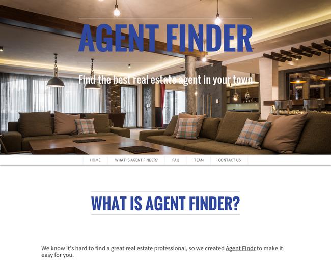 Agent Finder