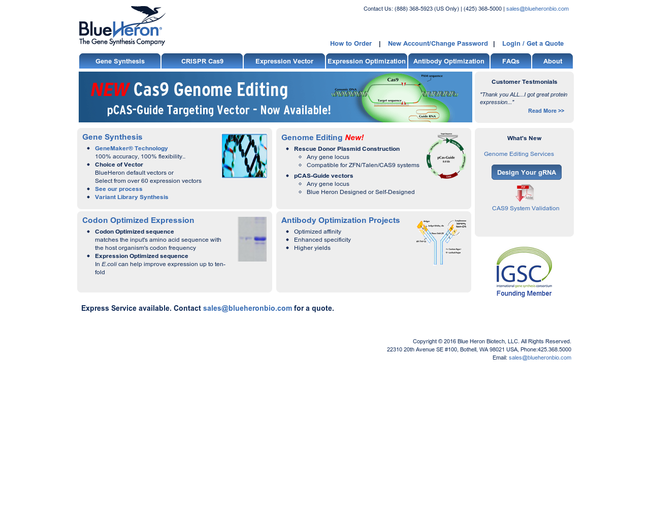 Blue Heron Biotechnology