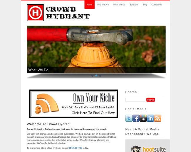 Crowd Hydrant