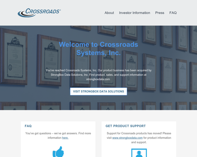 Crossroads Systems