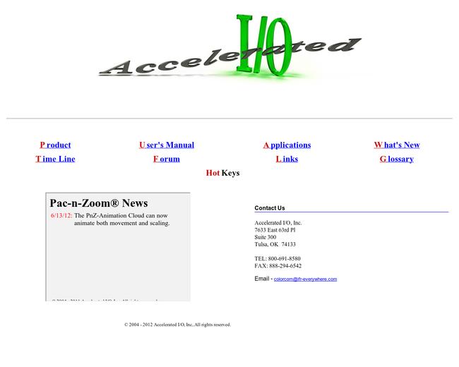 Accelerated I/O