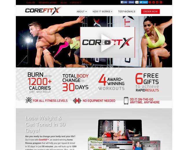 CoreFitX
