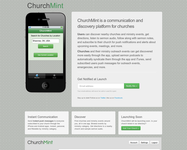ChurchMint