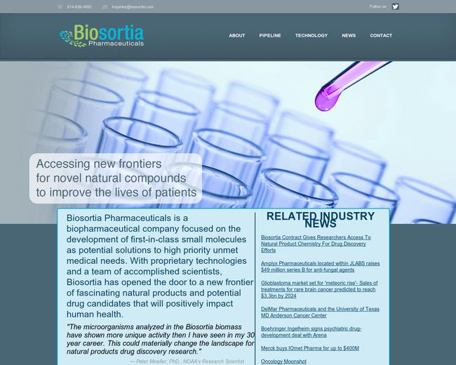 Biosortia Pharmaceuticals