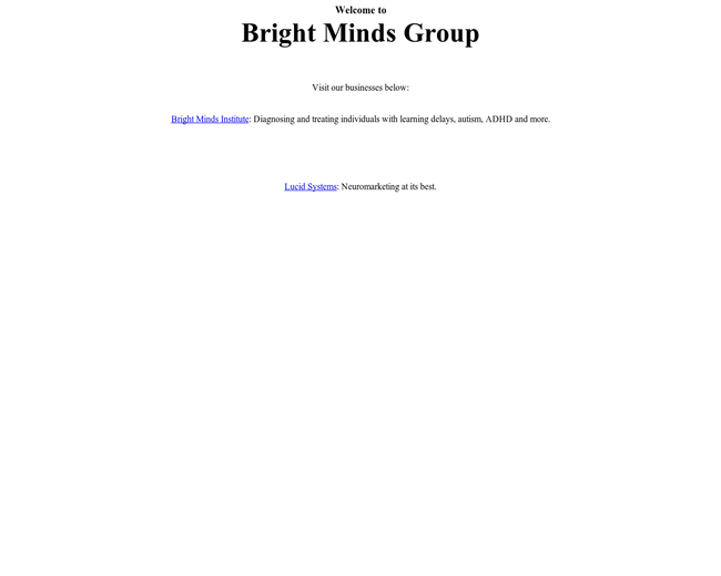 Bright Minds Institute