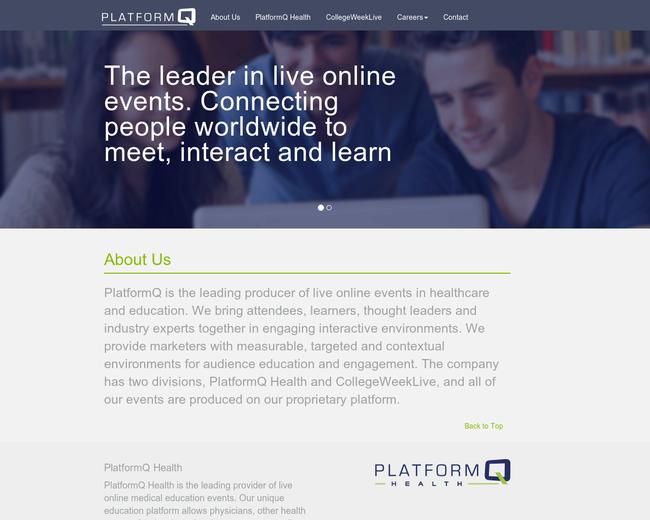 CollegeWeekLive (PlatformQ)