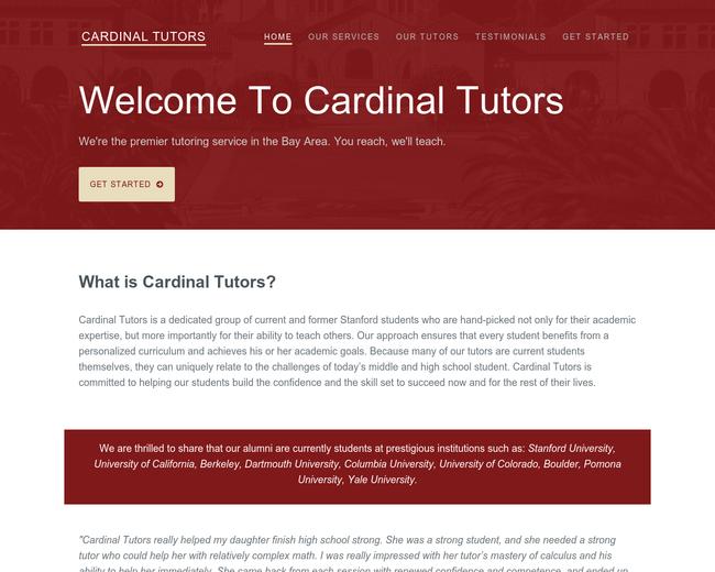 Cardinal Tutors