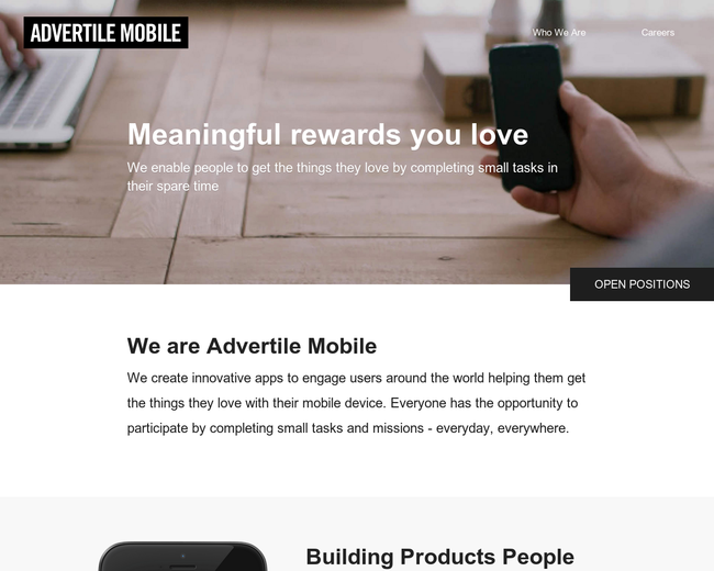 Advertile Mobile