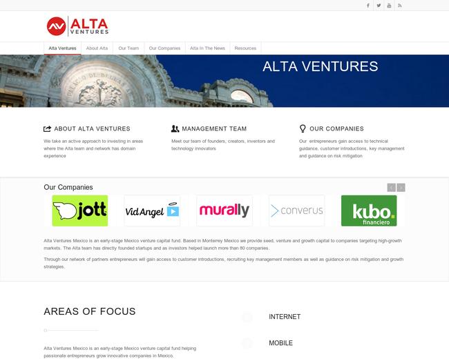Alta Ventures Mexico