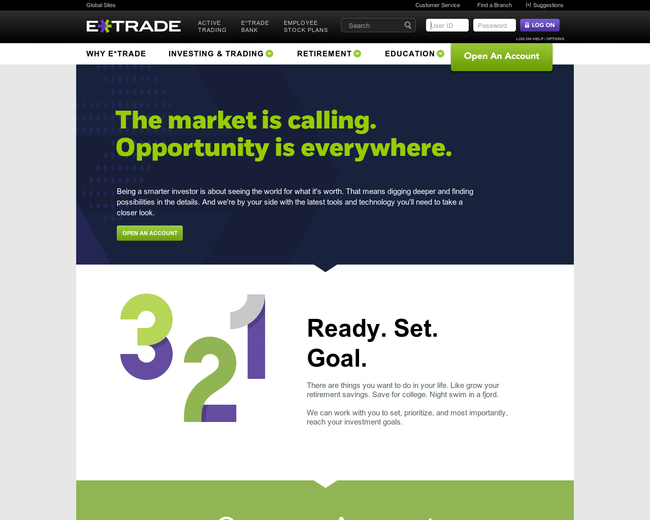 E*Trade on Iterate Studio