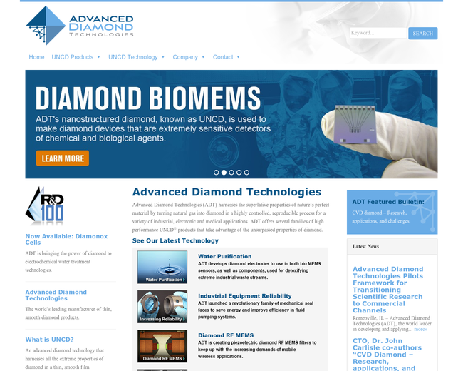 Advanced Diamond Technologies