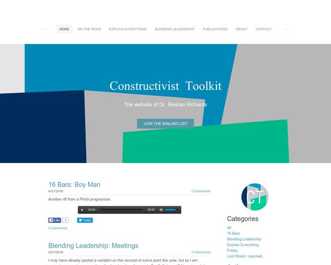 Constructivist Toolkit