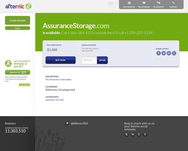 Assurance Storage