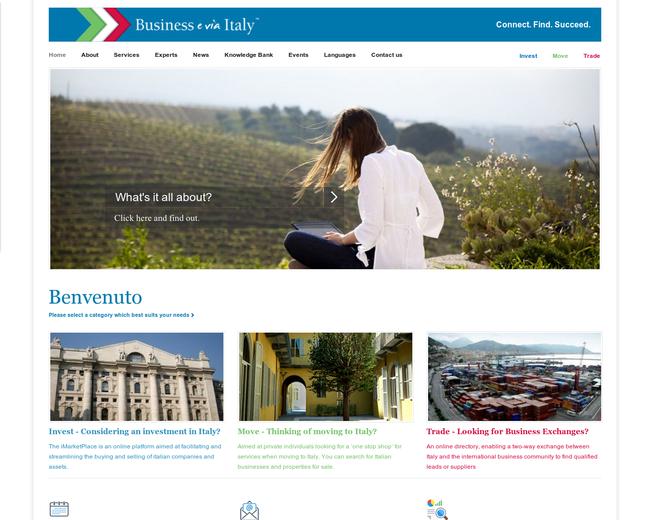 Business e via Italy