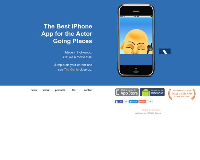 Actor Genie