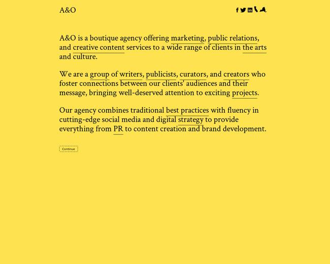 A&O Art Marketing & PR