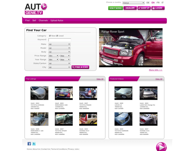 Autogenie.tv - Genie Portals