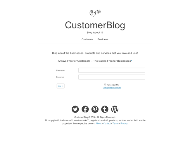 CustomerBlog
