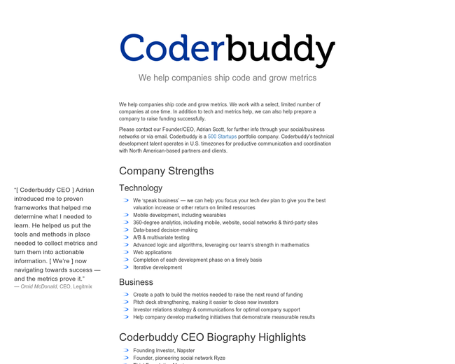 Coderbuddy