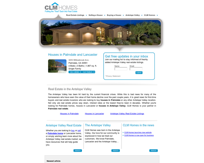 CLM Homes