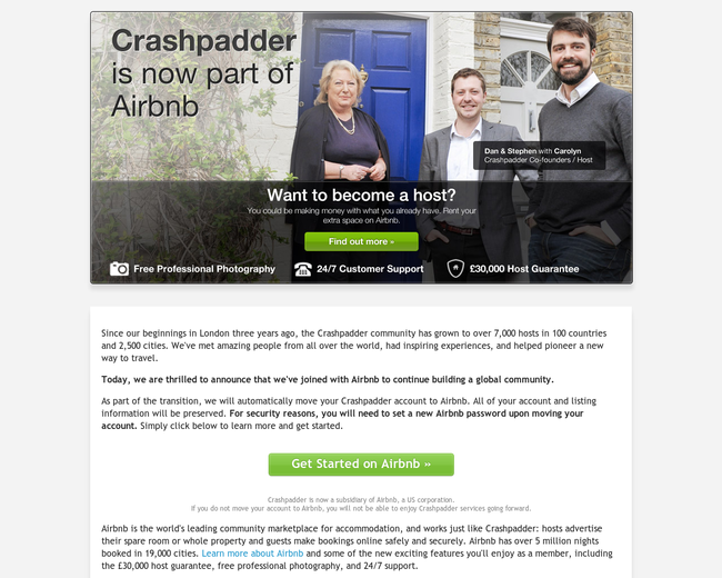 Crashpadder