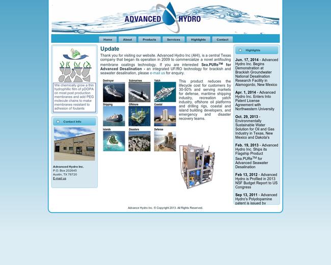 Advanced Hydro