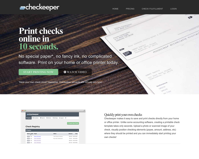Checkeeper
