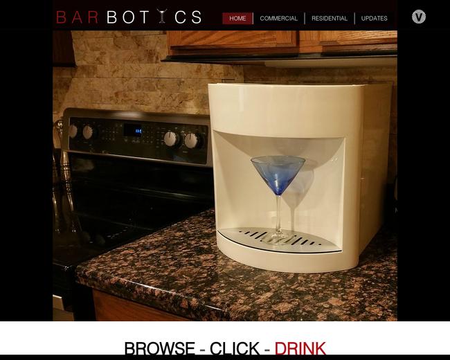 Barbotics Robotic Bartender