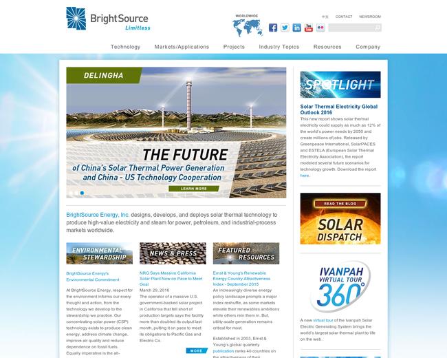 Brightsource Energy